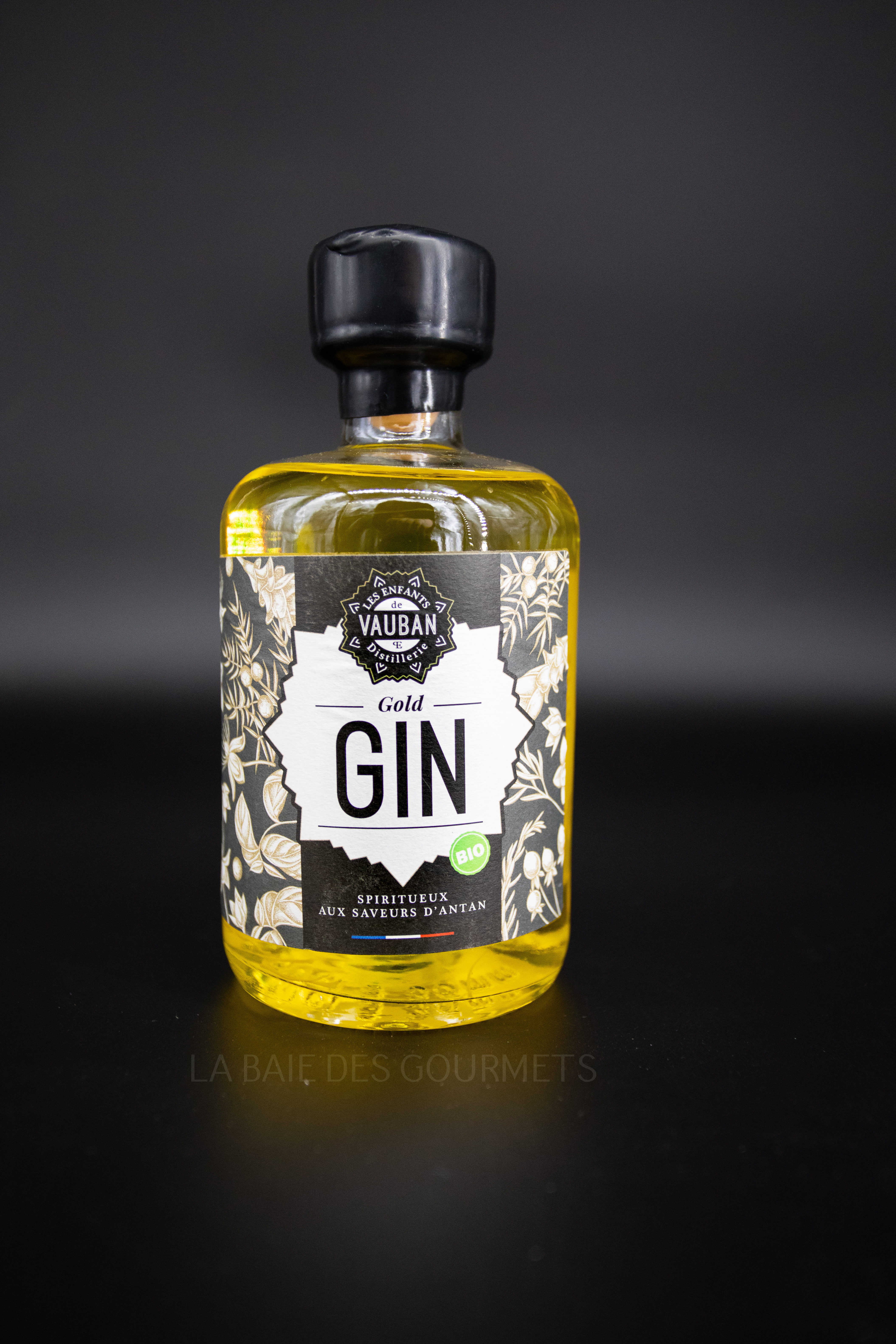 Gin au safran - La Baie des Gourmets