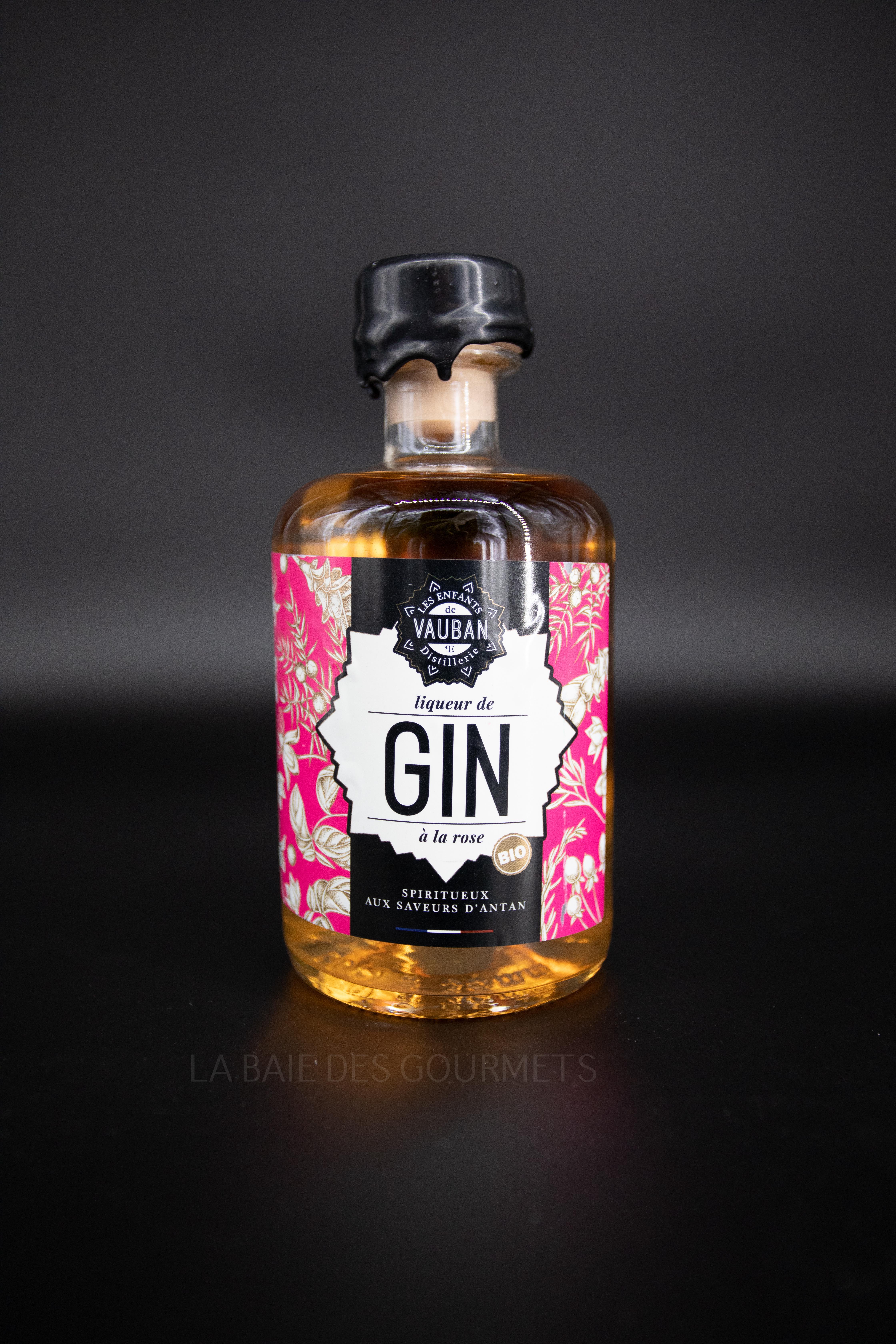 Gin à la rose - La Baie des Gourmets