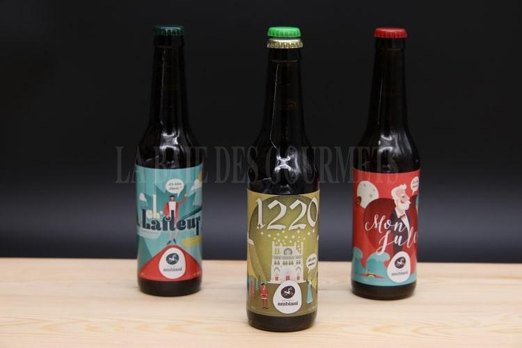 1220, bière ambrée - La Baie des Gourmets