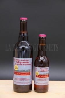 Argousette, bière ambrée à l'argousier - La Baie des Gourmets