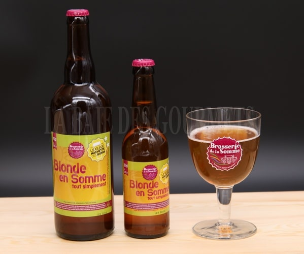 Blonde en Somme, bière blonde - La Baie des Gourmets