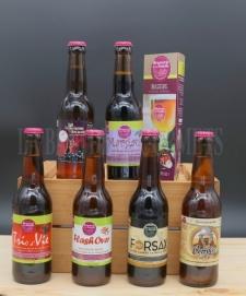 Boisson - Bière - Ambrée - Margaux, bière brune à la confiture de frambroise - La Baie des Gourmets