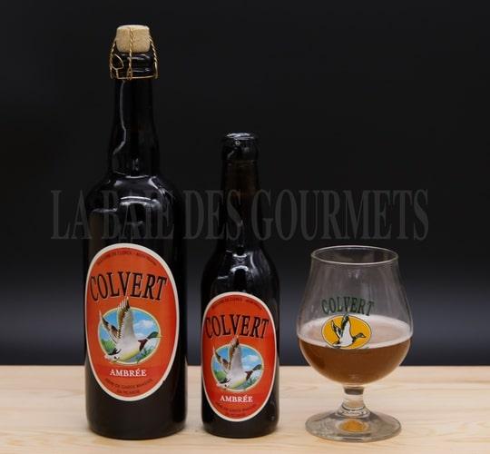 Colvert, bière ambrée - La Baie des Gourmets