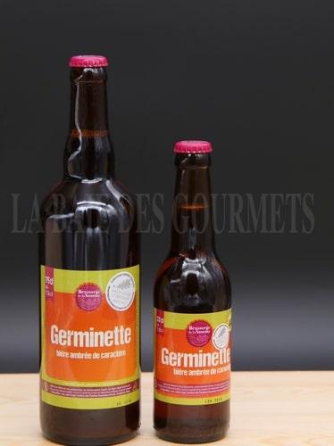 Germinette, bière ambrée - La Baie des Gourmets