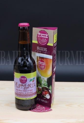Margaux, bière brune à la confiture de frambroise - La Baie des Gourmets