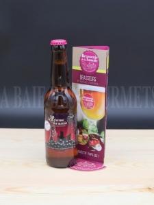 Boisson - Bière - Ambrée - Princesse, bière ambrée au cassis - La Baie des Gourmets