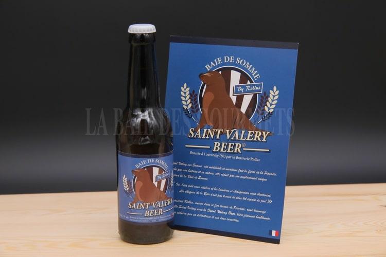 St Valery beer, bière blonde - La Baie des Gourmets