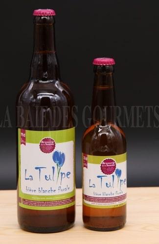 Tulipe, bière blanche - La Baie des Gourmets